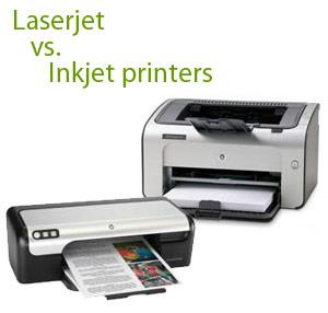 Избор на лазерен или мастилено-струен принтер
