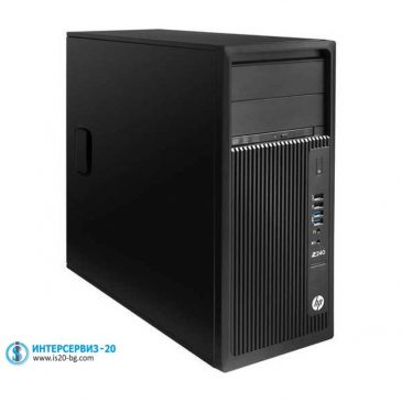 HP Z240 Workstation със GeForce GTX 1050 TI