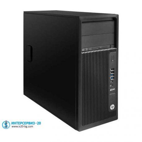 HP-Z240-Workstation геймърски компютър